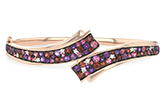 B242-88321: BANGLE 3.12 MULTI-COLOR 3.30 TGW (AMY,GT,PT)