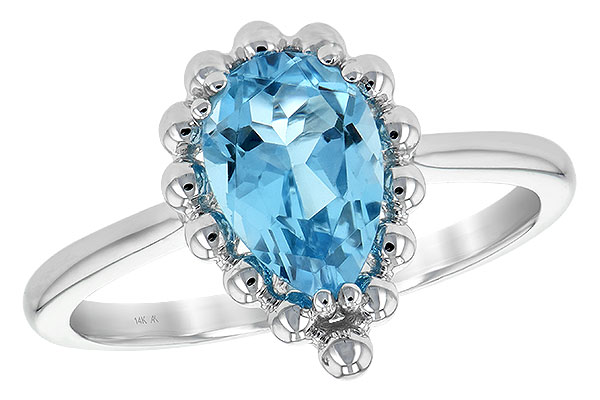 B243-76530: LDS RG BLUE TOPAZ 1.55 CT