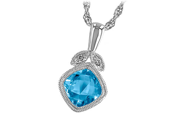 D241-06494: NECK 1.05 BLUE TOPAZ 1.06 TGW