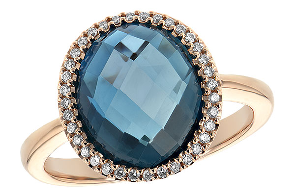 G243-74648: LDS RG 5.31 LONDON BLUE TOPAZ 5.45 TGW