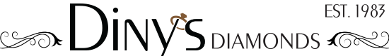 Diny's Diamonds Mobile Logo